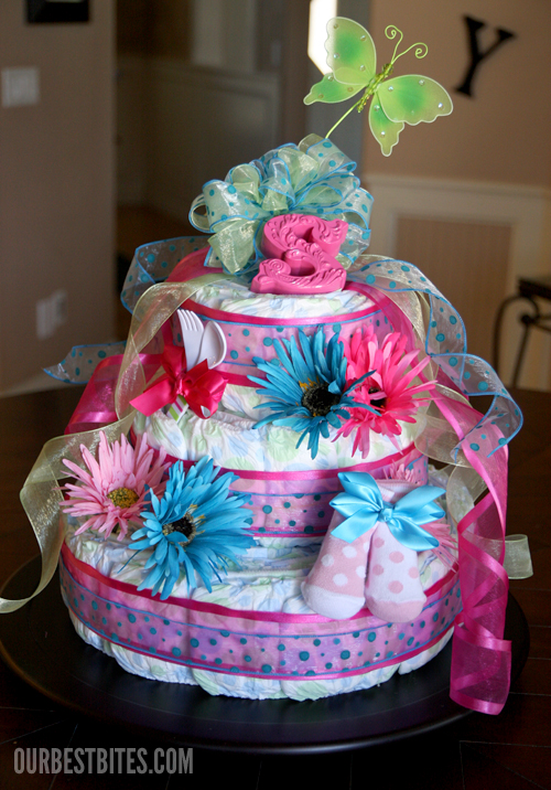 nappy cakes instructions to make