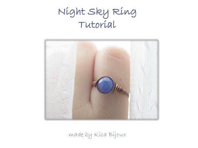 Night Sky Ring : Simple Wire Wrapping Diy