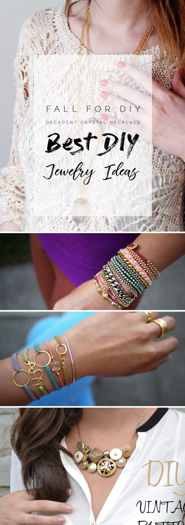 23 DIY Jewelry Ideas Putting Together Splendorous Pieces of Wearable Beauty!