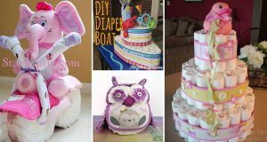best diaper cake ideas