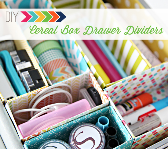 15 Cereal Box Crafts