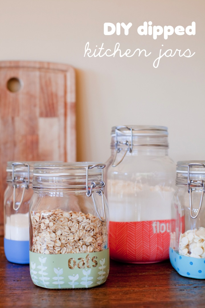 Diy Dipped Containers