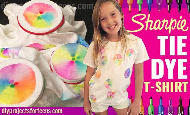 Sharpie Tie Dye T-Shirt