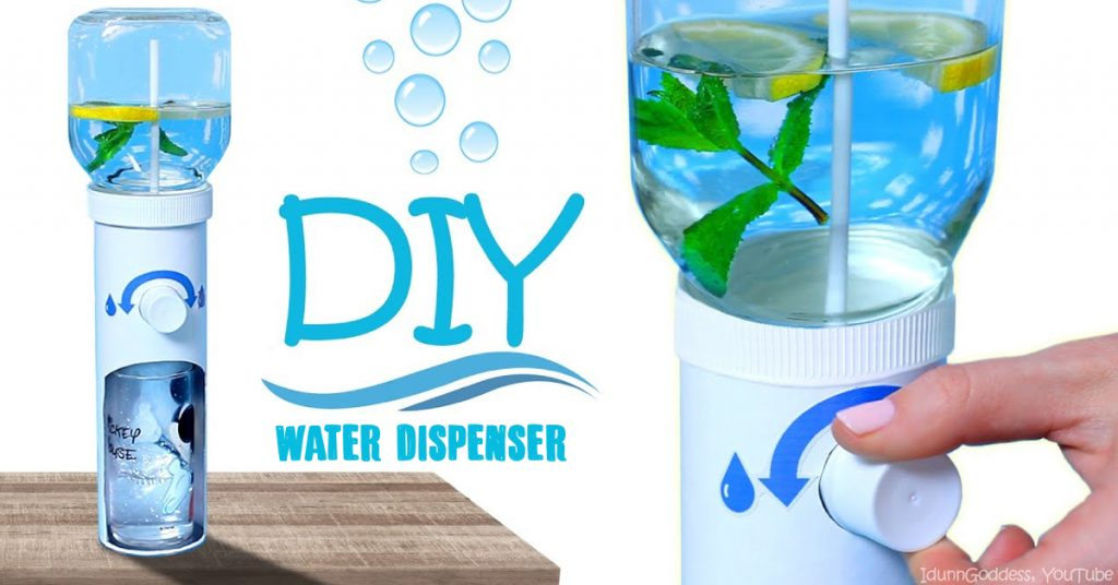diy water dispenser cover