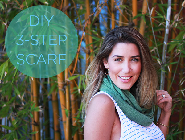 DIY 3-Step Scarf