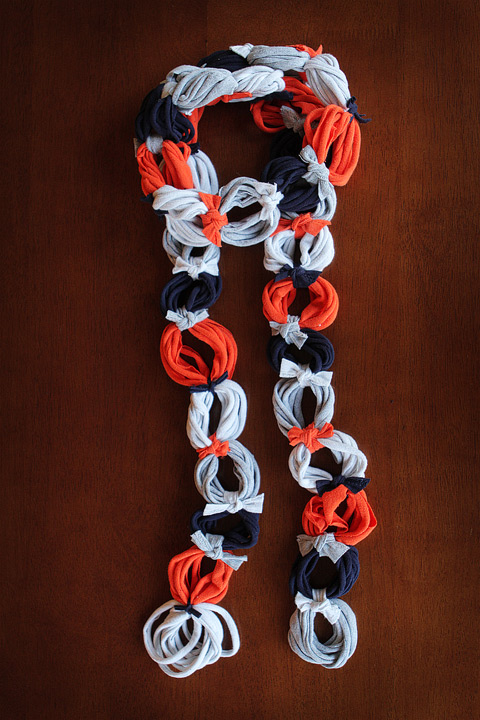 Make a Ringlet T-shirt Scarf for Fall