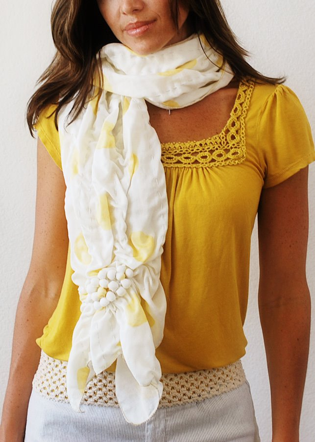 Simple Fabric Scarf