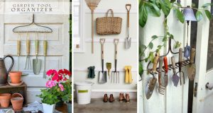 15 Garden Tool Storage Hacks-cover