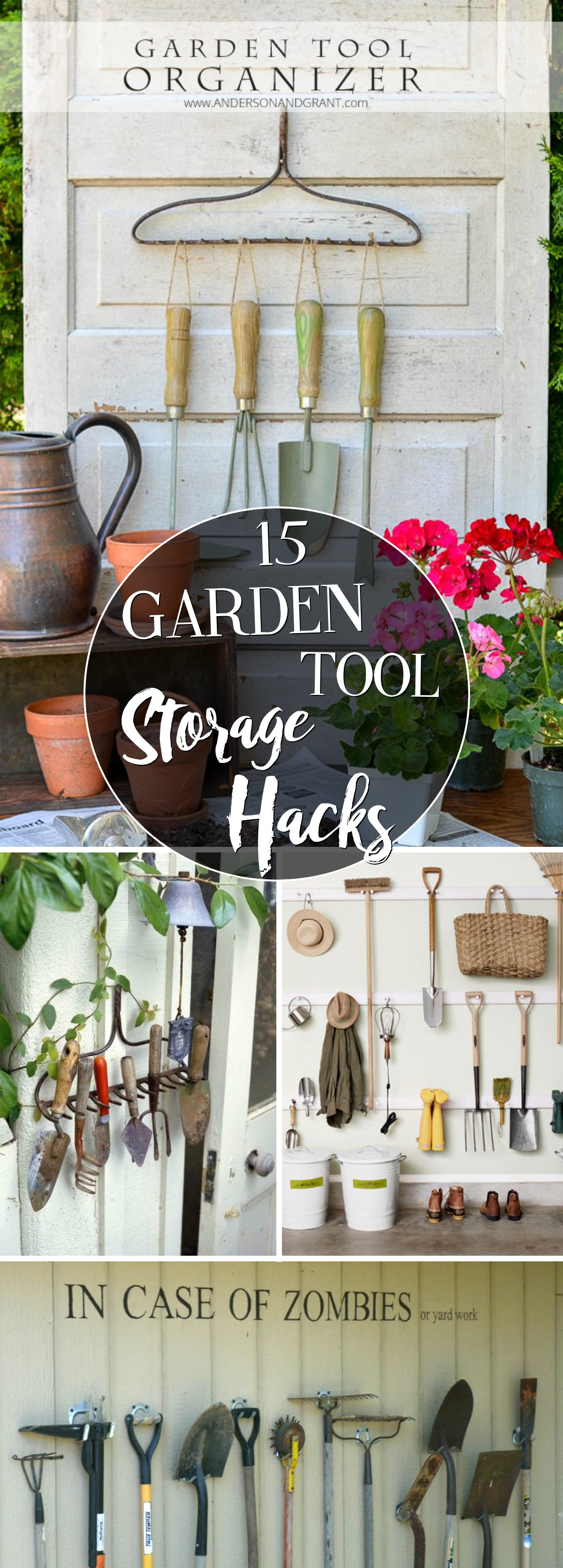 15 Garden Tool Storage Hacks Keeping your Love For Gardening Well-Organized!