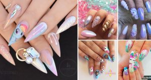25 Mystical Unicorn Nail Designs Taking you to a Land of Fantasy