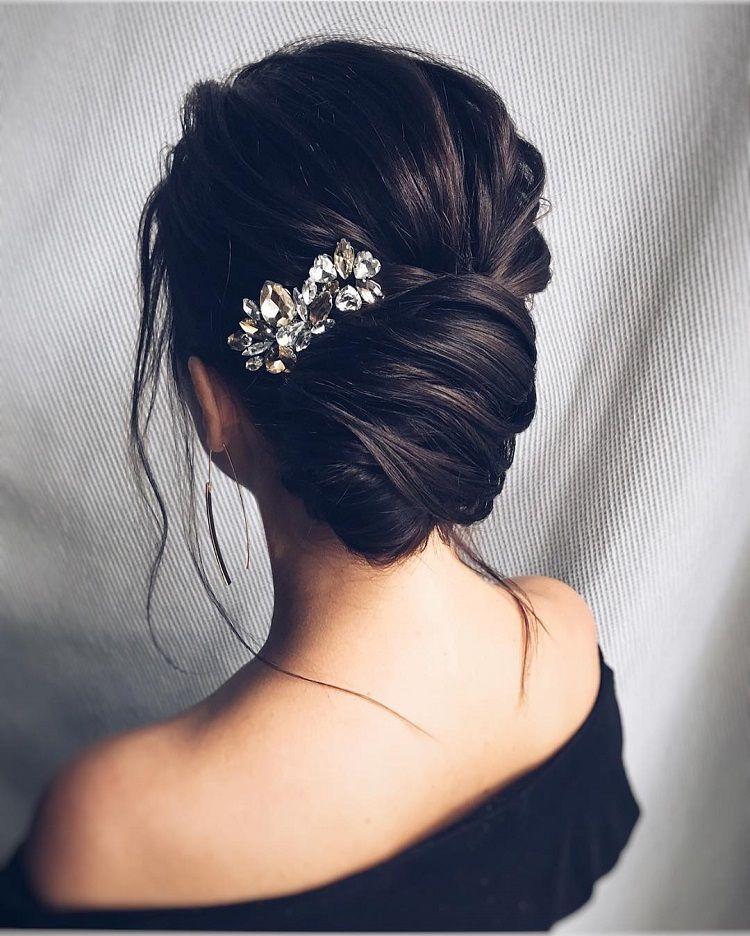 Gorgeous Feminine Wedding Hairstyle