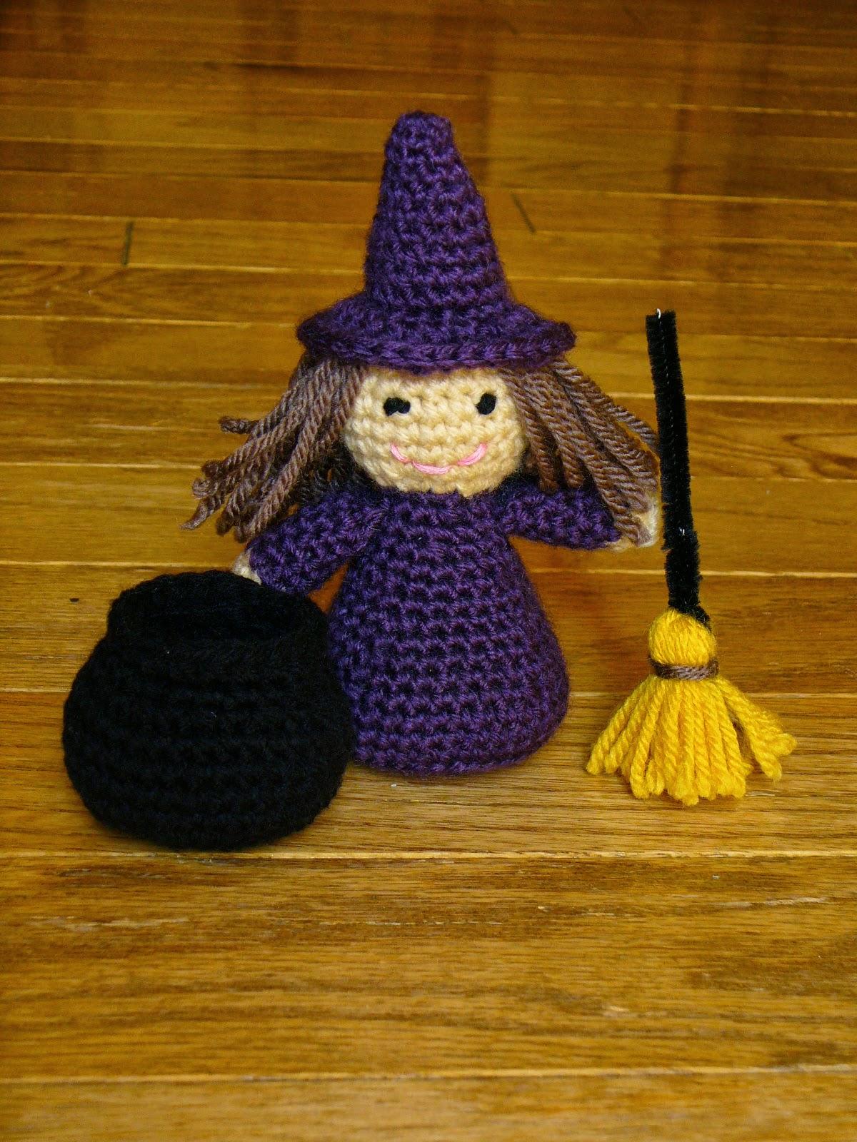 Little Witch Crochet Pattern