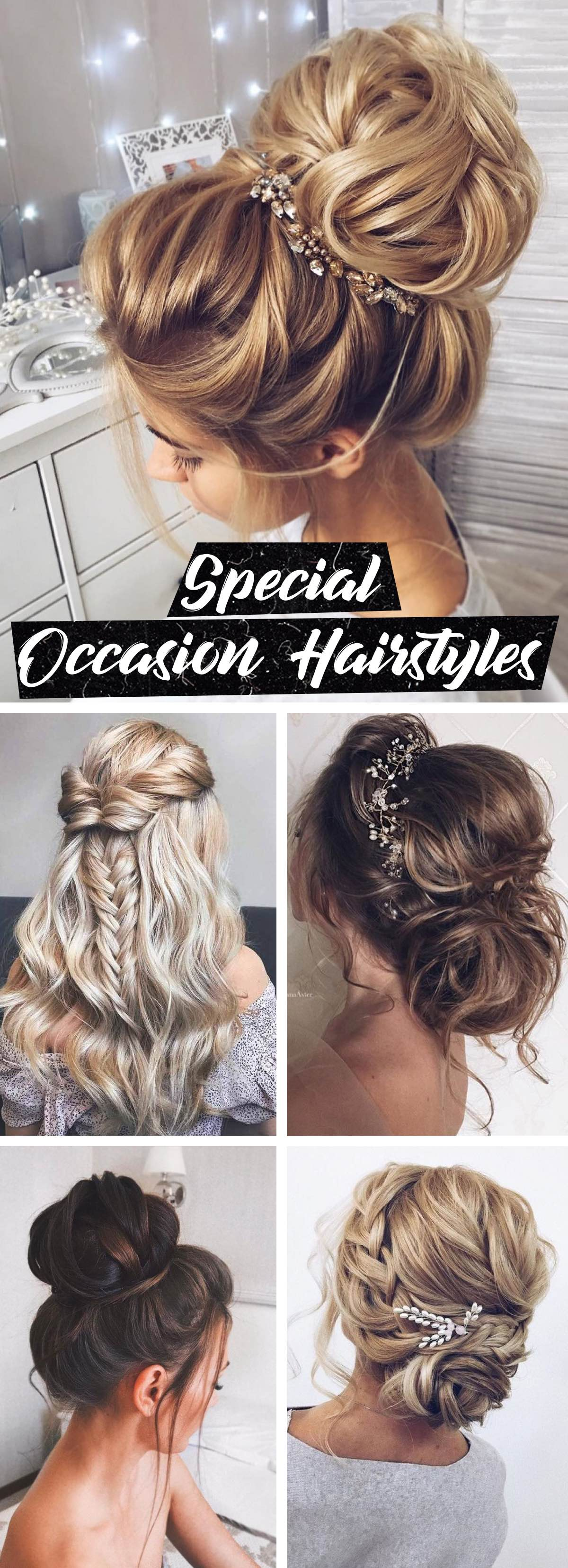 Special Occasion Hairstyles That Will Make You Enchant the Big Day