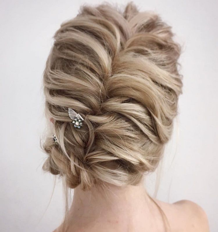 Twisted Full Hair Updo