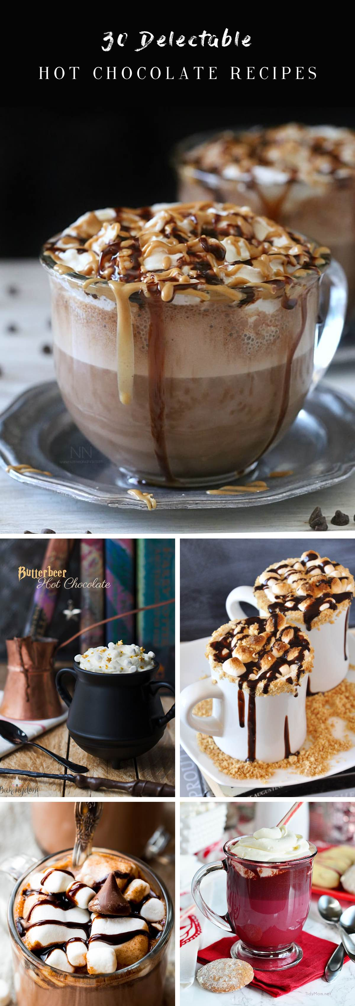 30 Delectable Hot Chocolate Recipes That Bring Comfort to Winters!