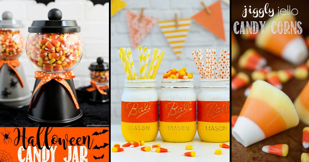 Yummy-Looking Candy Corn Crafts