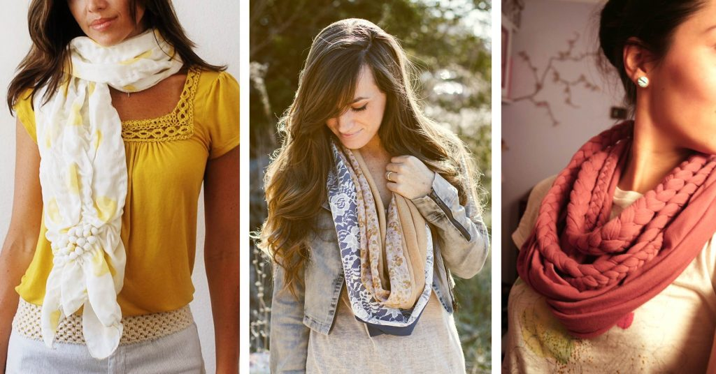 Stylish DIY Scarves To Stay Cozier and Make a Statement At the Same Time