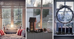 Lovely Christmas Window Decor Ideas