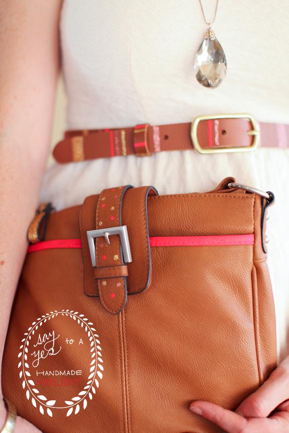 Glitter Belts And Bag