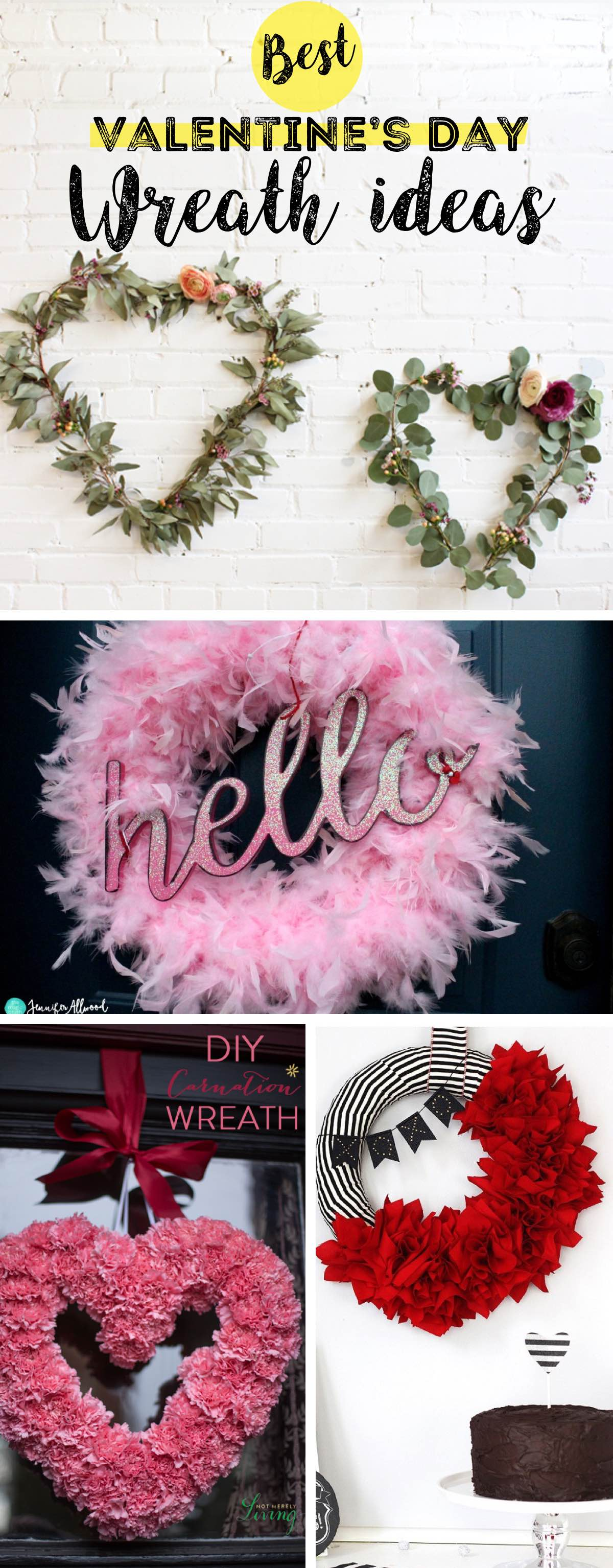 18 Valentine's Day Wreaths Bringing Out An Instant Romantic Touch To The Scene!
