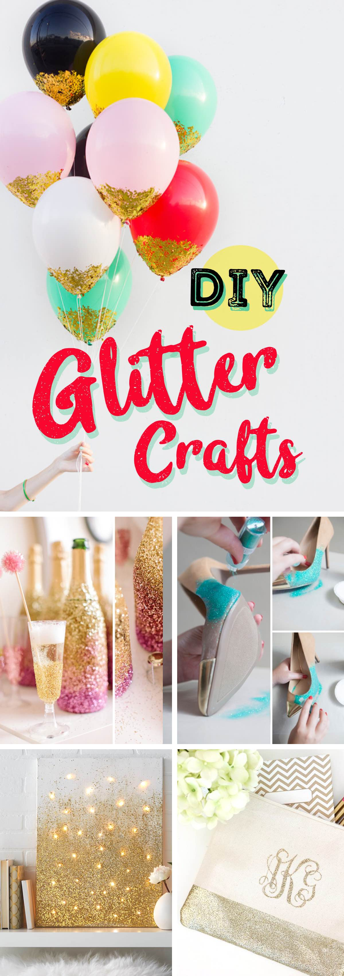 24 DIY Glitter Crafts Adding A Lot More Shine To Your Life!
