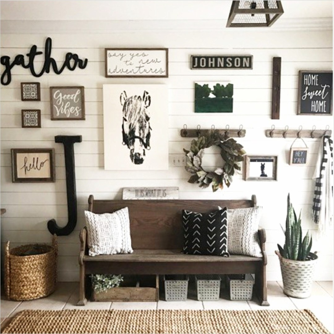 The Monochrome Entryway