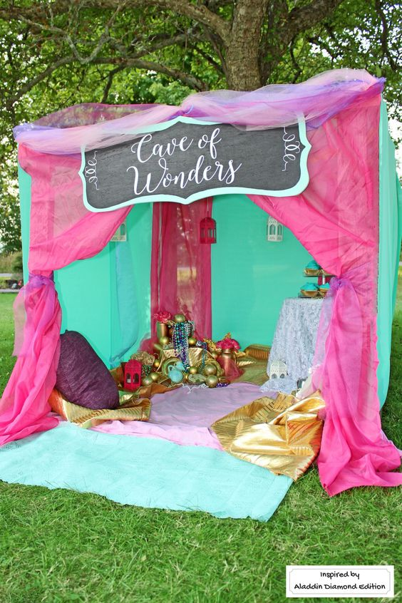 Cave of Wonders Outdoor Party
