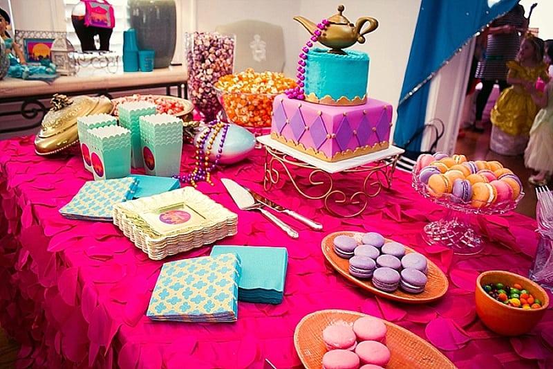 Gorgeous Arabian Themed Princess Jasmine Birthday Part